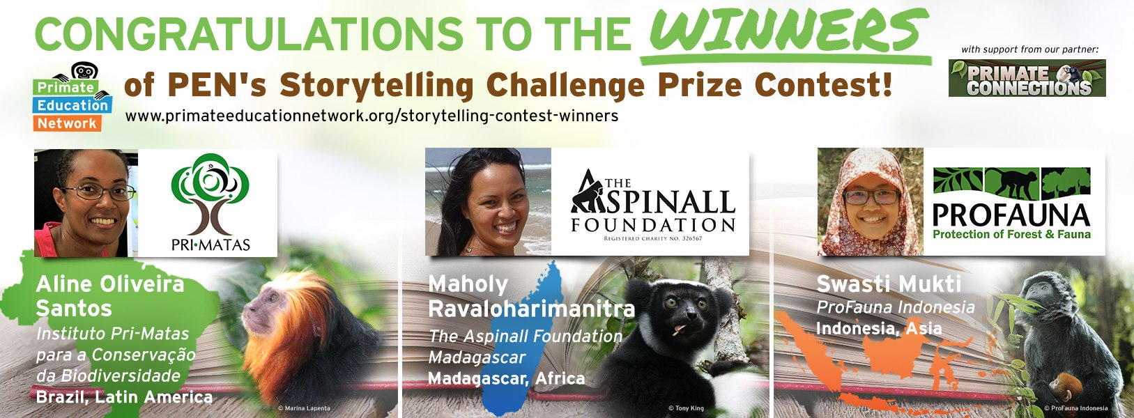 Storytelling Challenge Prize Contest Winners