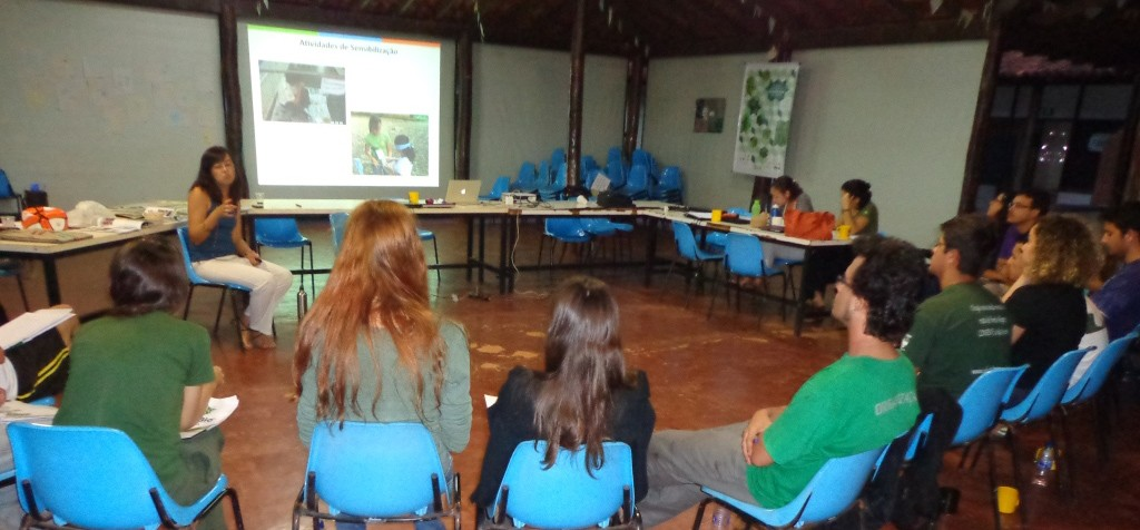 Interactive Session at IV Brazilian Field Primatology Course